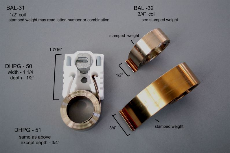Bal 31 Amp 32 Sash Balance Types Aa Window Parts