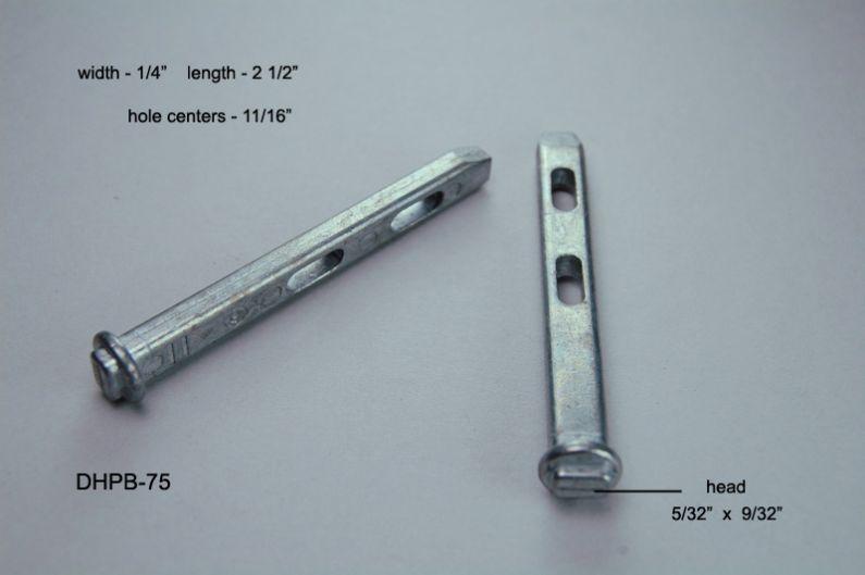 Dhpb 75 Double Hung Pivot Bars Amp Pivot Bar Housings Two Holes Aa Window Parts Amp Hardware