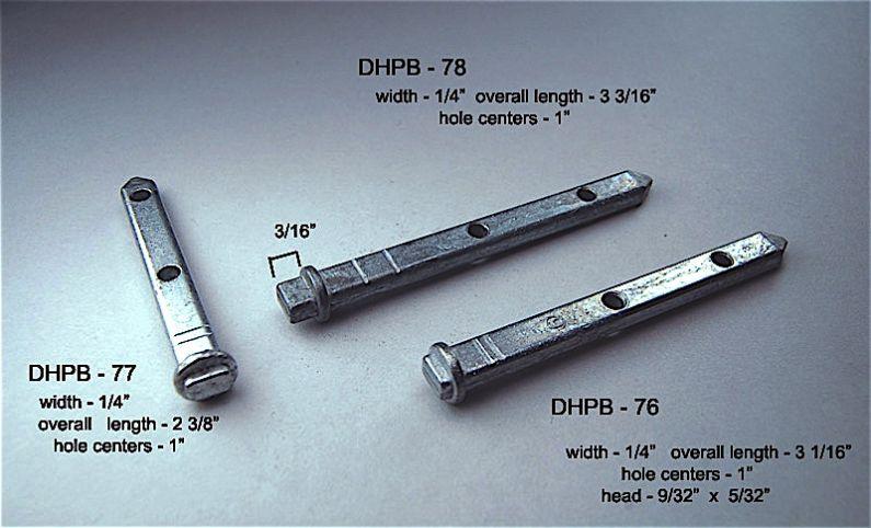 Dhpb 76 77 Amp 78 Double Hung Pivot Bars Amp Pivot Bar