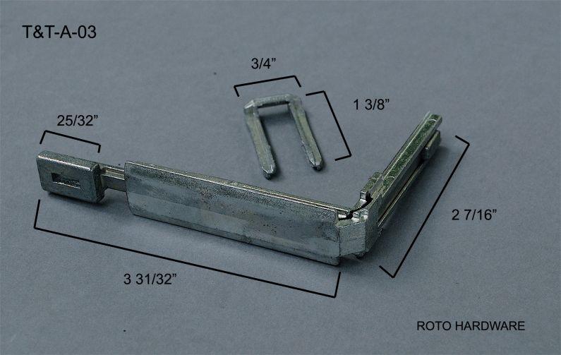T Amp T A 03 Tilt Amp Turn Accessories Aa Window Parts