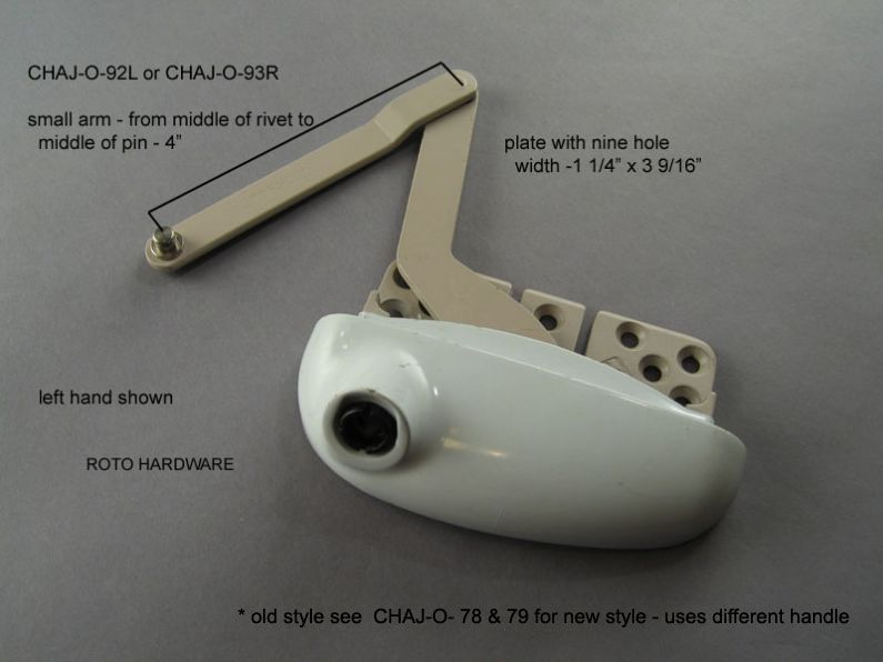 Operators - CHAJ-O-92L or CHAJ-O-93R