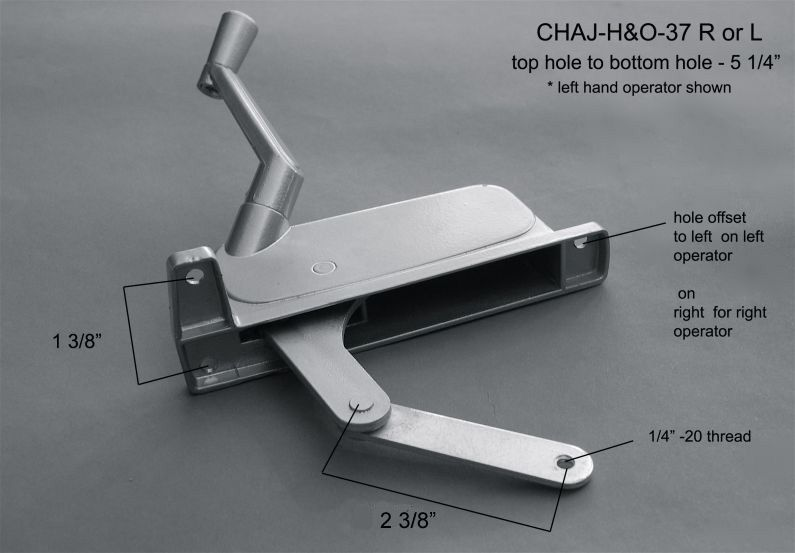 Operators - CHAJ-O&H-37 R&L
