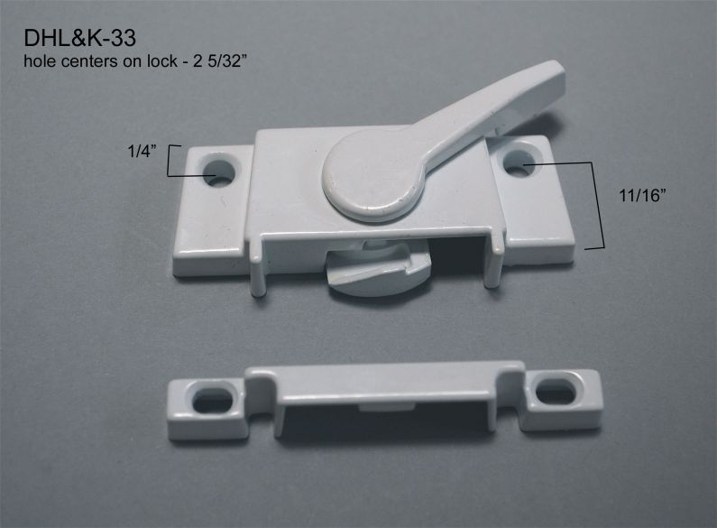 Double Hung - Locks & Keepers - other - DHL&K-33