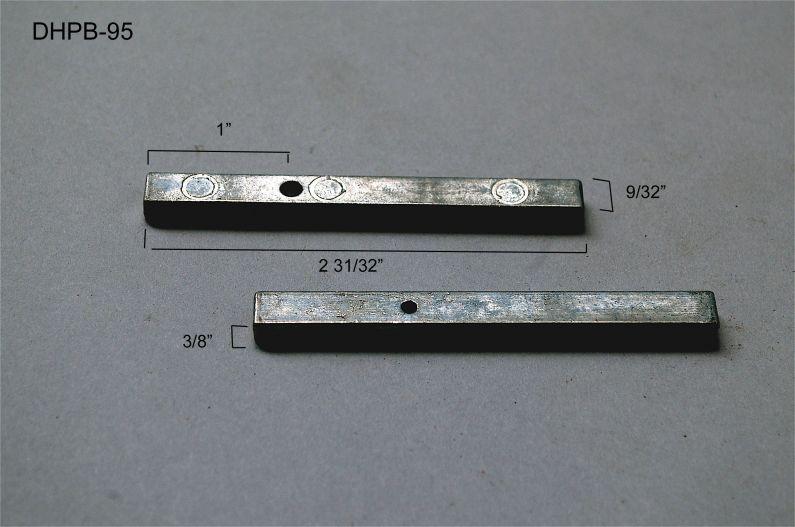 Double Hung - Pivot Bars & Pivot Bar Housings - Zero or One Hole - DHPB-95
