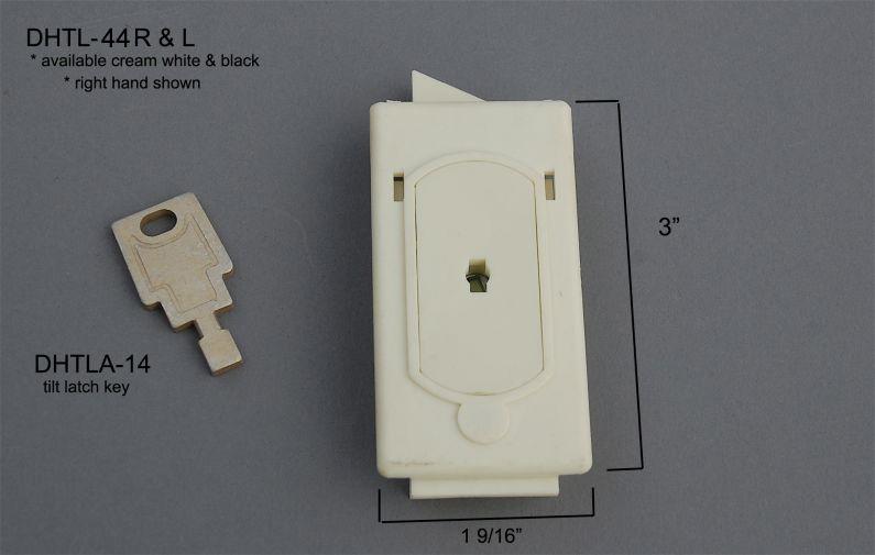 Double Hung - Tilt Latches & Accessories - Internal Tilt Latches & Accessories - DHTL-44 R&L