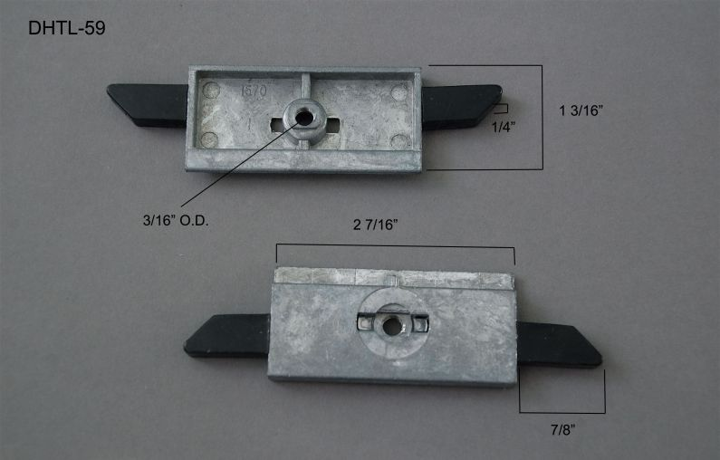 Double Hung - Tilt Latches & Accessories - Internal Tilt Latches & Accessories - DHTL-59