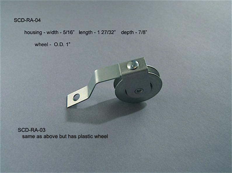 Screen Doors - Roller Assemblies - SCD-RA-03 & 04