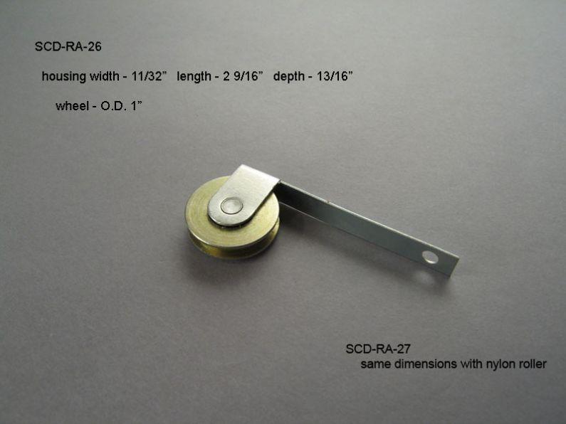 Screen Doors - Roller Assemblies - SCD-RA-26 & 27