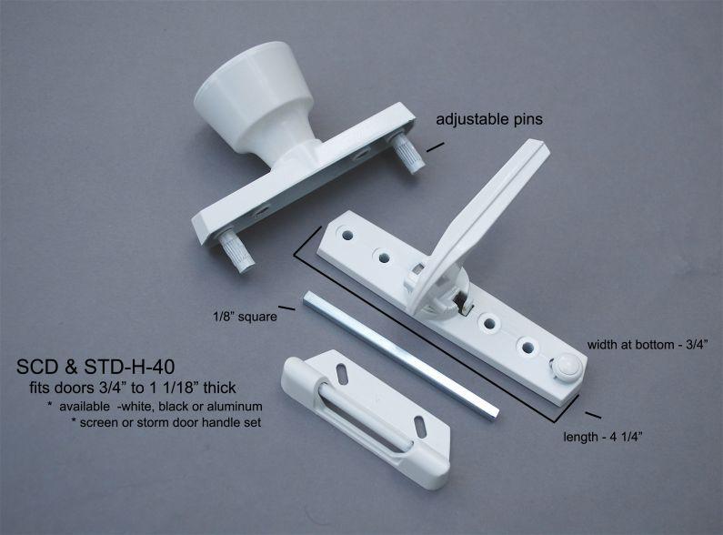 Storm Door - Handles - SCD & STD-H-40