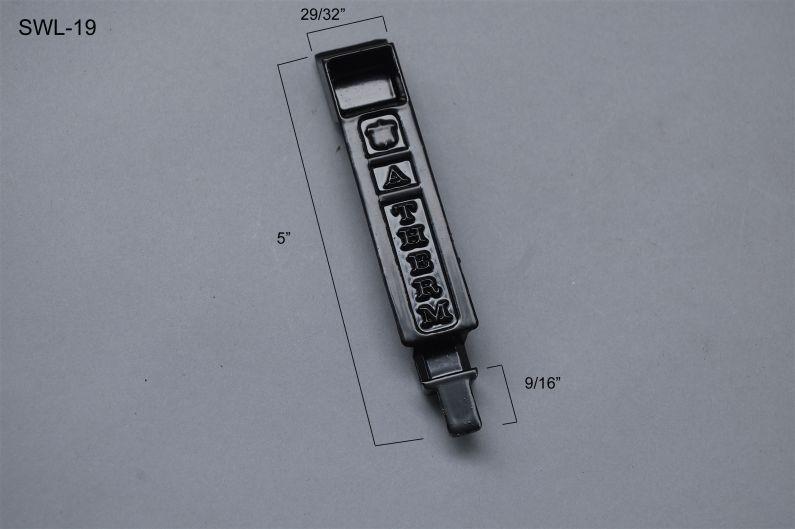 Sliding Window - Locks & Keepers - SWL-19