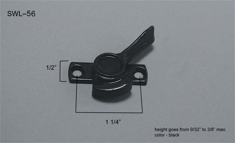 Sliding Window - Locks & Keepers - SWL-56