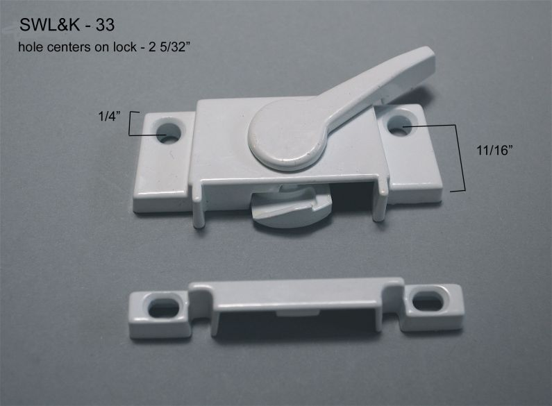 Sliding Window - Locks & Keepers - SWL&K-33