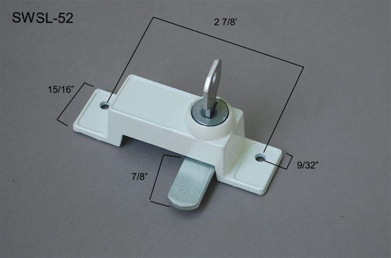 Sliding Window - Locks & Keepers - SWSL-52